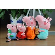 Personagem Do Desenho Kit Família Peppa Pig 4pcs