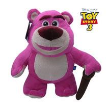 Linda Pelúcia Urso Lotso Rex 25 Cms - Toy Story - Disney