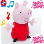 Pelúcia Peppa Pig Com Som 28 Cm ¿ Efeitos Sonoros Da Estrela