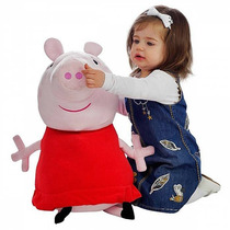 Peppa Pig Pelucia- Gigante Original (62cm)- Pronta Entrega!