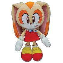 Sonic Hedgehog Cream Pelúcia Original 20cms