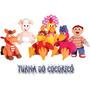 Toda Turma Do Cocorico Bonecos Musicais( Os 6 Personagens )