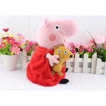 Pelucia Peppa Pig Com 30cm. Envio Imediato, Pronta Entrega!