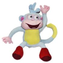 Pelúcia Plush Macaco Botas Desenho Dora 25cm Pronta Entrega