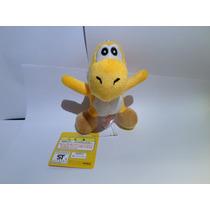 Pelúcia Yoshi Amarelo - Mario Nintendo - 12 Cm