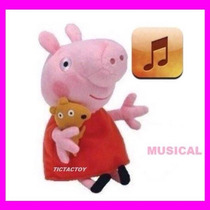 Família Peppa Pig Musical 23cm *produto Á Pronta Entrega *