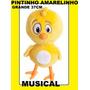 Pelucia Pintinho Amarelinho Da Galinha Pintadinha Musical 37