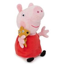 Peppa Pig Com 30cm Porquinha Rosa Em Plush Pronta Entrega