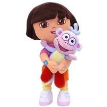 Boneca Dora Aventureira E Botas - Multibrink