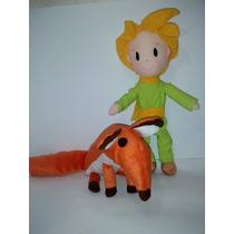 Pelúcia Pequeno Príncipe + Raposa Novos Modelos