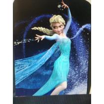 Mochilas Elsa/ Frozen / Monster High Lona C/ziper(ver Medida