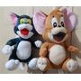 Pelúcia Brinquedo Kit Tom E Jerry 23 Cm Com Ventosa - Novo!!