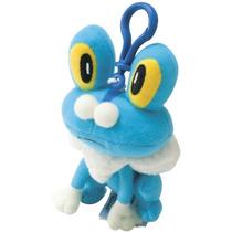 Chaveiro Pelúcia Pokémon Froakie Original Lacrado Tomy Suika