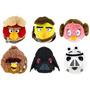 Pelúcias Angry Birds - Star Wars - Lote Com 6 Personagens