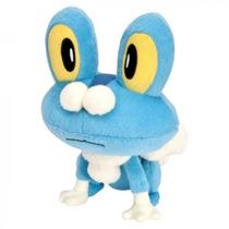 Pelúcia Pokémon Froakie 20cm Tomy Original Lacrado ~ Suika