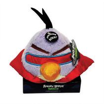 Pelúcia Angry Birds Space Lilás Grande C/ Efeito Sonoro