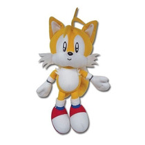 Sonic Hedgehog Raposa Tails Pelúcia Original 23cm Original