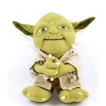 Boneco De Pelucia Star Wars Mestre Yoda - Menor Preço Do Ml!