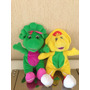 Ultimo Lote 2 Amigos Do Barney 35cm
