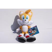 Pelúcia Tails Sega Ótima Qualidade Sonic :)