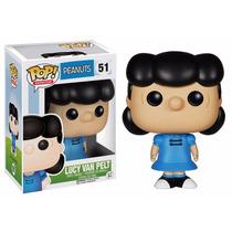 Peanuts Boneco Lucy Van Pelt Pop Funko 10cms