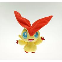 Pelúcia Pokemon Victini - 18 Cm Nintendo Pokemon Banpresto