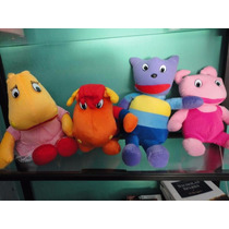 Austin - Tasha - Tyrone - Uniqua Backyardigan Pelucia