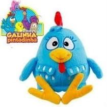Galinha Pintadinha Musical Brinquedo Pelúcia Infantil