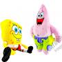Boneco De Pelúcia Bob Esponja E Patrick Original Nickelodeon