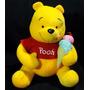 Pelúcia Ursinho Pooh Original 30 Cms, Importado.