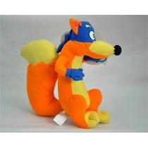 Bichinho Raposo Dora Aventureira Pelucia 45cm
