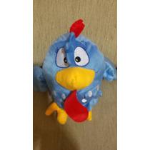 Boneco Pelúcia Galinha Pintadinha Tradicional Azul