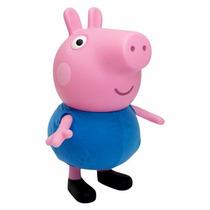 Boneco George Pig Irmao Da Peppa Pig Brinquedo Multibrink