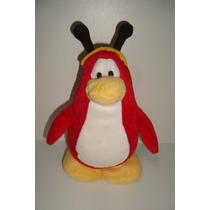 Pinguim Club Penguin Disney Pelúcia 18cm Original Usado