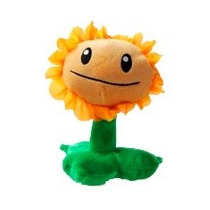 Pelúcia Plants Vs Zombies - Sunflower (girassol)
