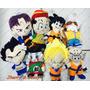 Kit Pelúcia Dragon Ball Z - 8 Personagens - Novo
