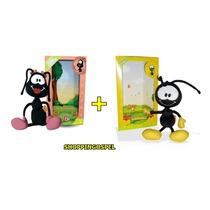 Bonecos De Pelúcias Smilinguido + Flau Formigas