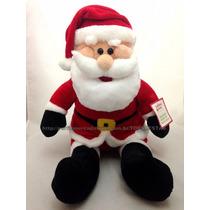 Pelúcia Papai Noel Gigante 75cm Decoração De Natal - Novo!