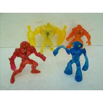 Ben 10 Brinquedo Antigo Mc Donald Lote Com 04 Boneco Ben 10