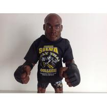 Anderson Silva Round 5 Ufc Com Camiseta Muay Thai College