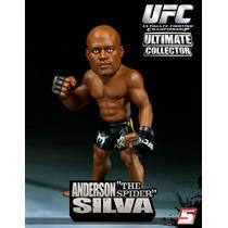 Anderson Silva Boneco Round 5 Ufc Ultimate Collector Pride