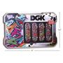 Tech Deck Dgk Lata+4 Skates De Dedo Edição Limitada