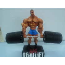 Levantamento Terra - Musculação - Boneco Em Resina - 24 Cm