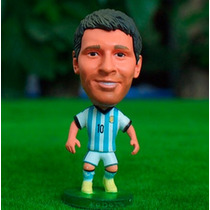 Lk+ Mini Craque Messi #10 Argentina Home Copa 2014 Kodoto