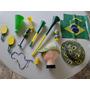 Super !!!!! Kit Torcedor Copa Brasil 2014 Fifa Buzina Chapeu
