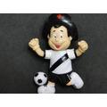 Boneco Mascote Futebol Vasco Da Gama Jogo Cintura Esportivo