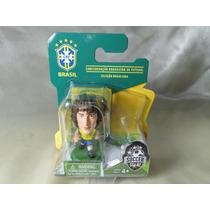 Mini Craque Davi Luiz - Copa 2014 Seleção Brasileira