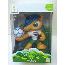 Fuleco Boneco Grow Mascote Da Copa 2014 Lacrado Oficial