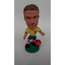 Boneco Mini Craque Coca Cola 1998 Soccerstars Mauro Silva