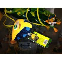 Chaveiro Fuleco Mascote Copa Brasil 2014 Futebol Tatu Bola